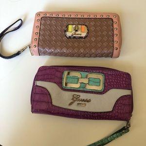 Guess zip wallets